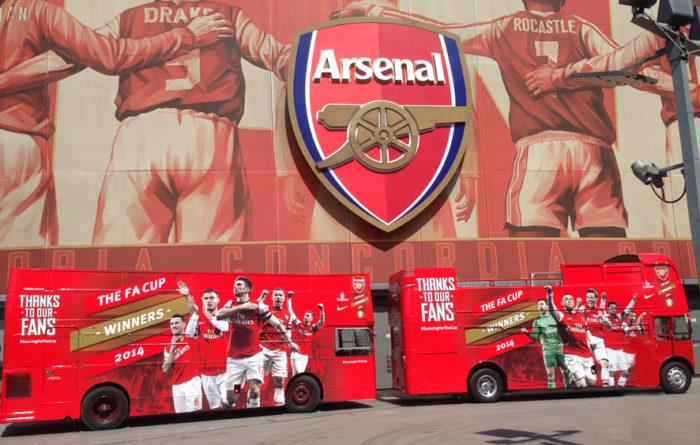 Branded buses