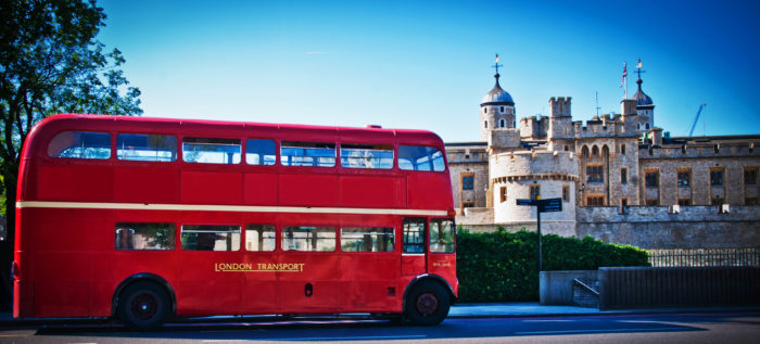 Routemaster bus hire in London